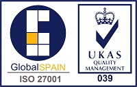 Global|Spain ISO 27001 certification logo